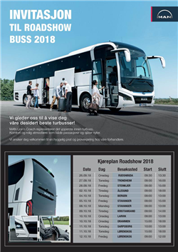 Roadshow Buss 2018